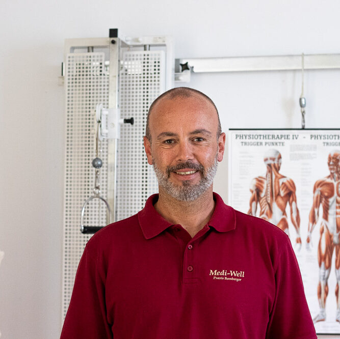 Physiotherapeut Uwe Bamberger